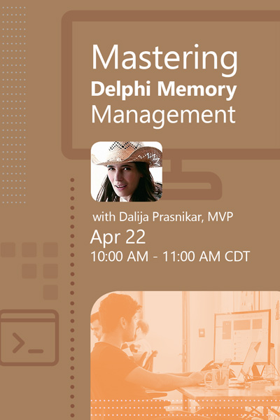 15 Banners Webinar Mastering Delphi Memory Management 400x600