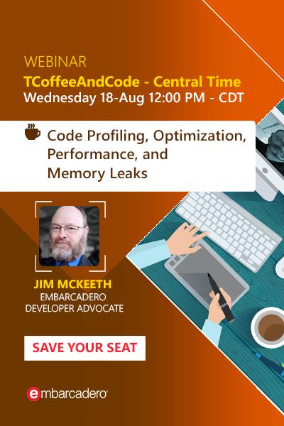 18 Banners Tcoffeeandcode Aug 2021 Code Profiling Optimization 400x600
