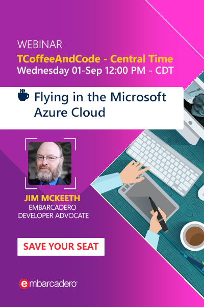 TCoffeeAndCode - Flying in the Microsoft Azure Cloud