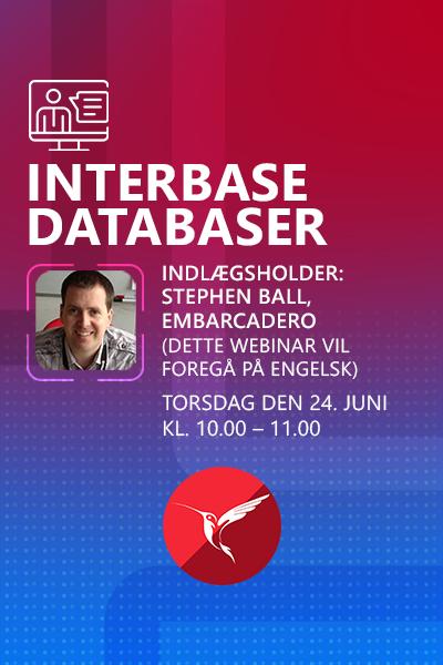 44 Banner Webinar Interbase Databaser Stephen Ball 400x600