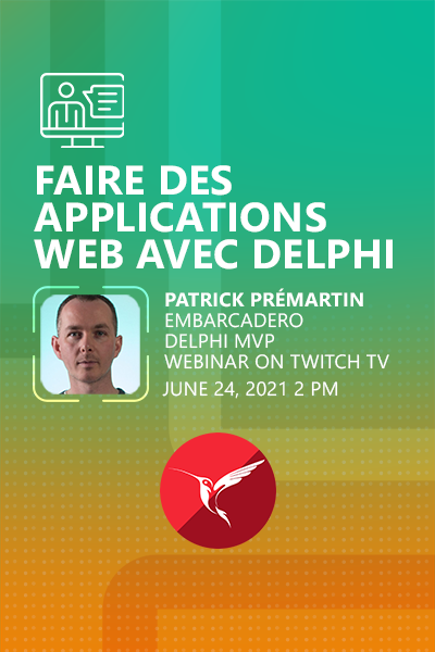 45 Banner Webinar Faire Des Applications Web Avec Delphi Patrick Premartin 400x600