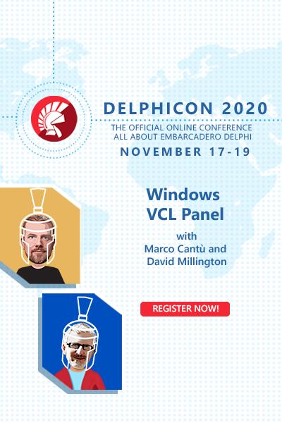 Delphicon 2020 Windows  Vcl Panel  400x600