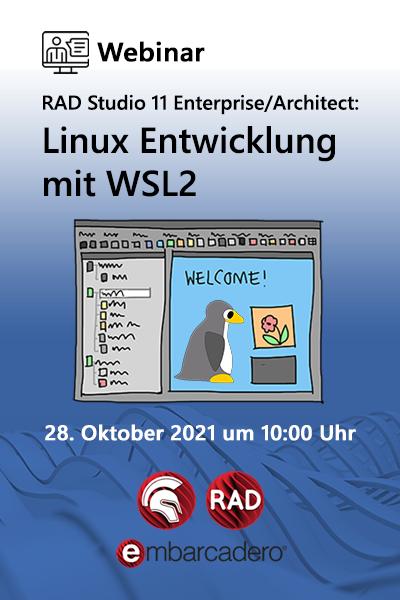 Cg Dach Rad Studio 11 Webinar Linux Wsl2 400x600