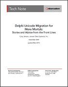 Delphi Unicode Migration White Paper