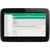 Emerald Dark Android Tablet