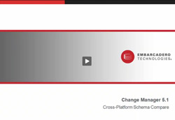 New In Change Manager 5.1 - Cross-DBMS Schema Compare