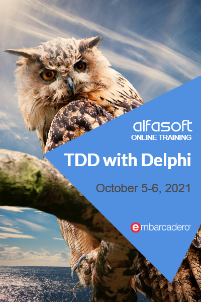 TDD with Delphi (October 2021)