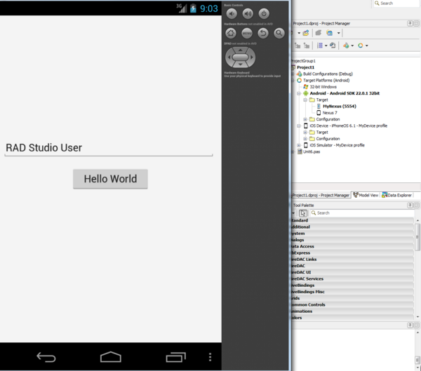 Running Your Android Application on an Android Emulator
