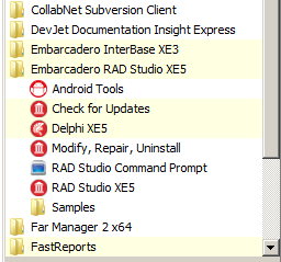 Installing the Android Development Tools